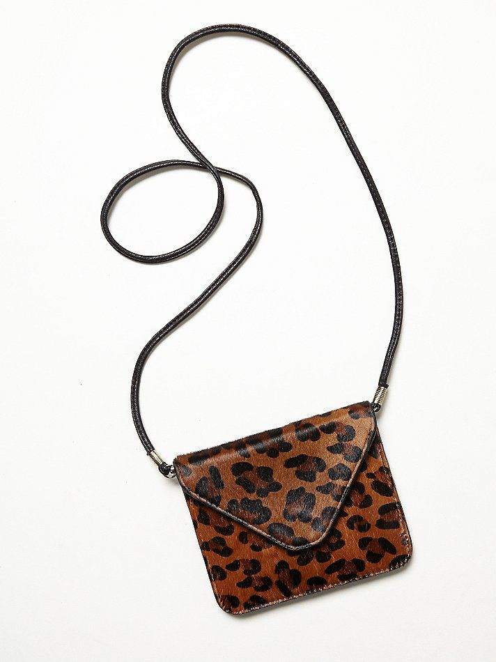 Free People Donna Crossbody in leopard at Free People Clothing Boutique