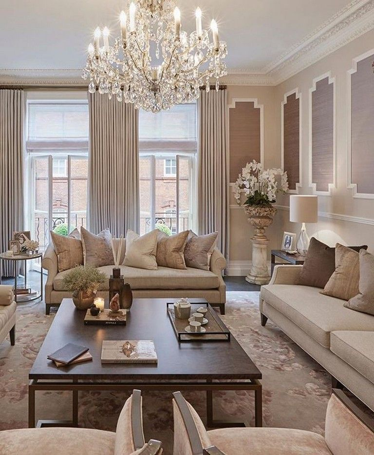 15 Gorgeous And Cute Feminine Living Rooms Decor Ideas Livingroom Livingroomideas Livi Formal Living Room Decor Cozy Living Room Design Elegant Living Room