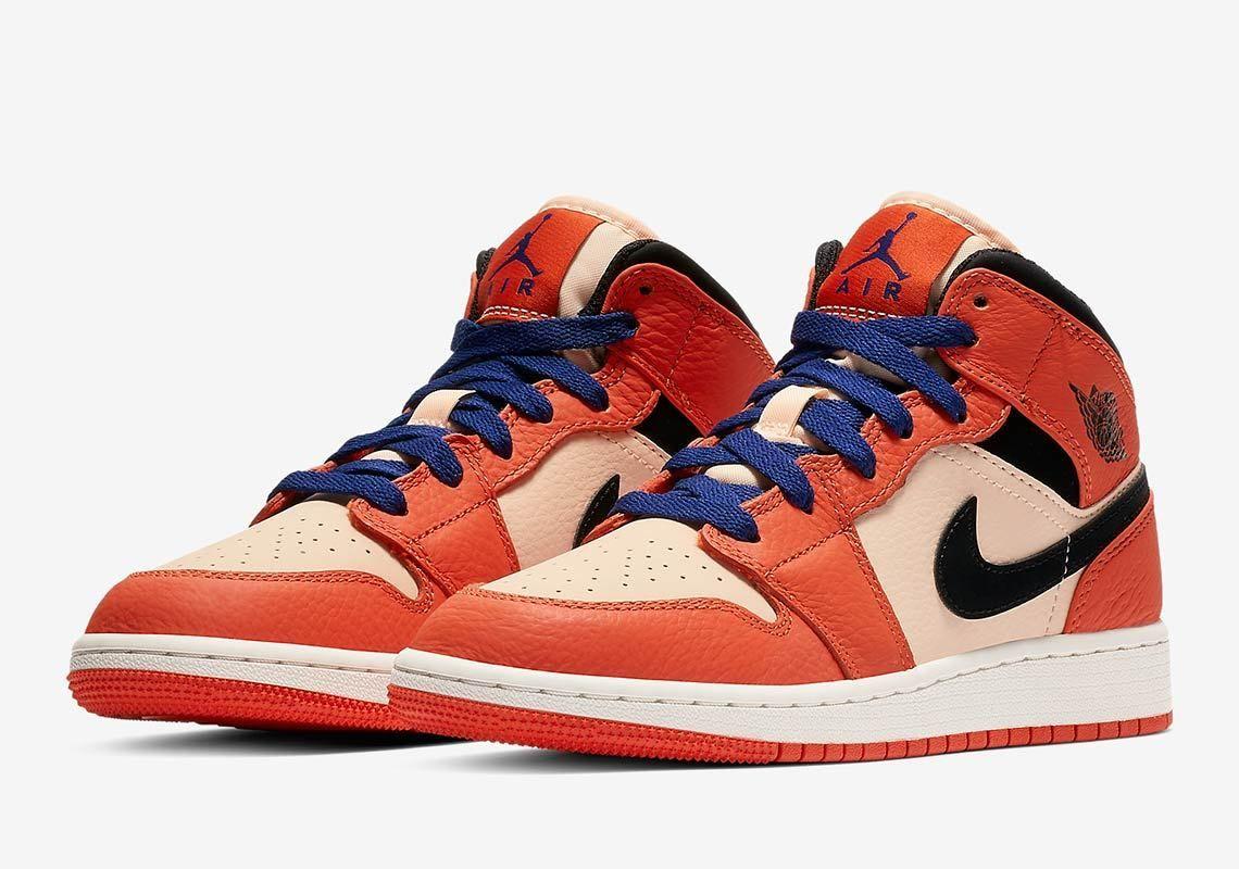info for be9d4 5bea0 Jordan 1 Mid Girls Orange BQ6931-800 Release Date  thatdope  sneakers   luxury  dope  fashion  trending
