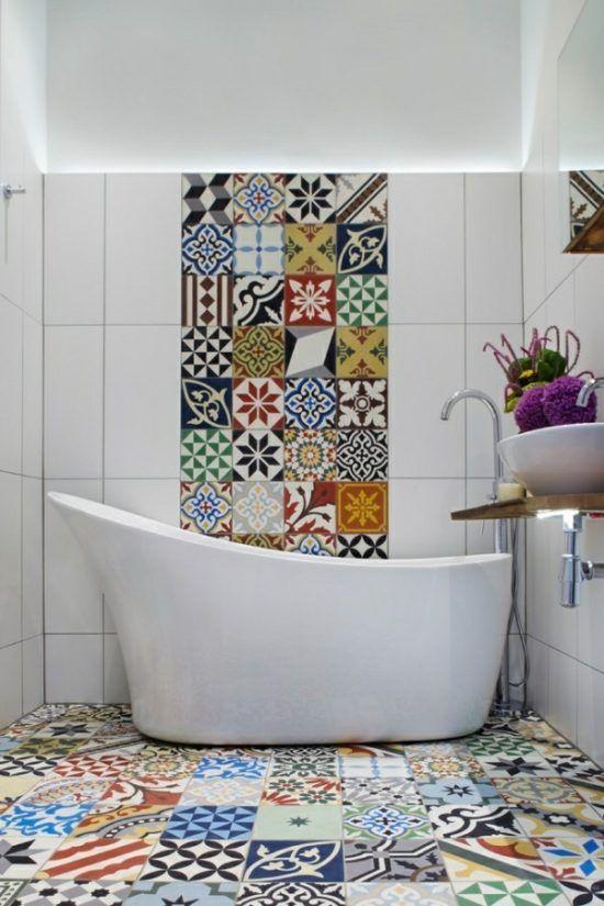 Badezimmer Ideen U2013 über 20 Beispiele Für Moderne Schlichtheit #fliesen # Beige #badgestaltung #