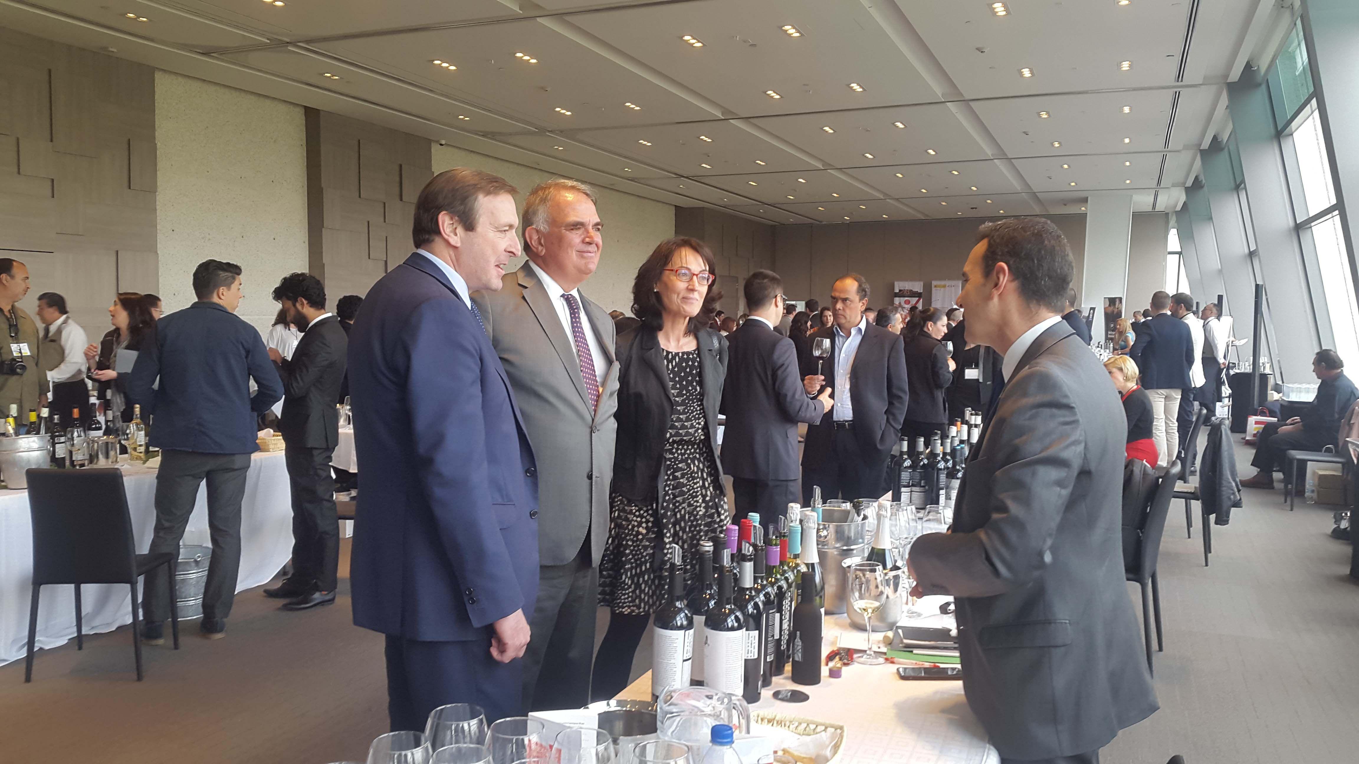 Una nutrida muestra de vinos de diferentes regiones vitivinícolas, trajo la XI Exposición de Vinos de España.