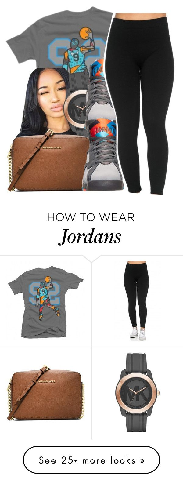 """""""basic """" by glowithbria on Polyvore featuring Michael Kors, Retrò and MICHAEL Michael Kors"""