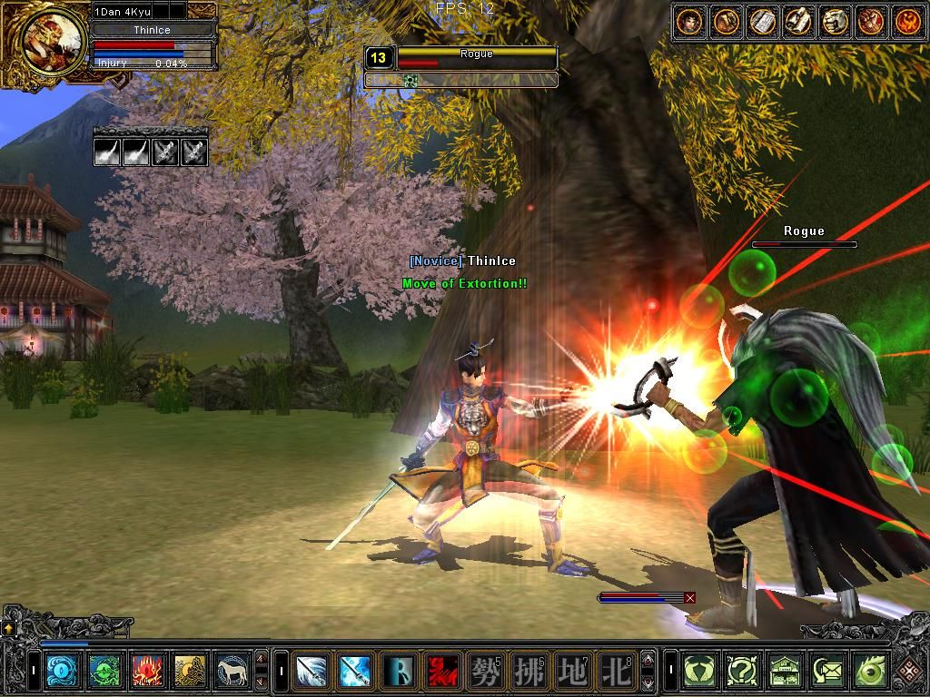 MMO games are the games played by more than one player at