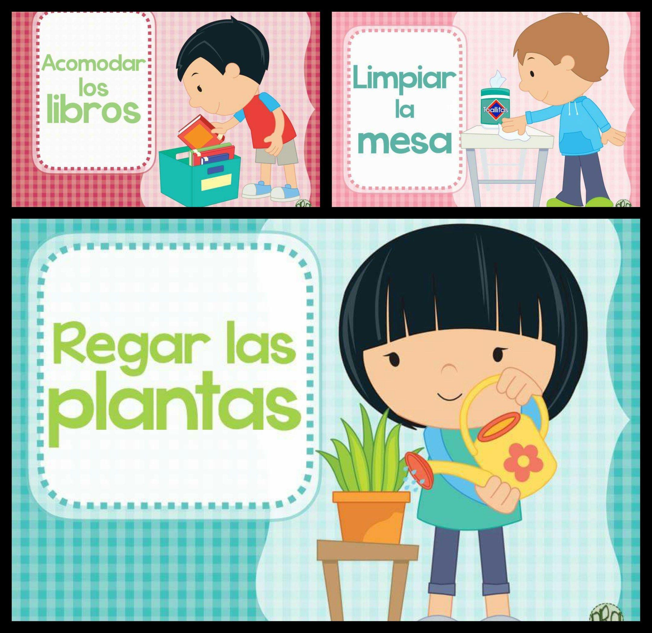 Carteles Para Los Ayudantes De Clase Ayudantes De Clase Imagenes Educativas Responsabilidad Para Ninos