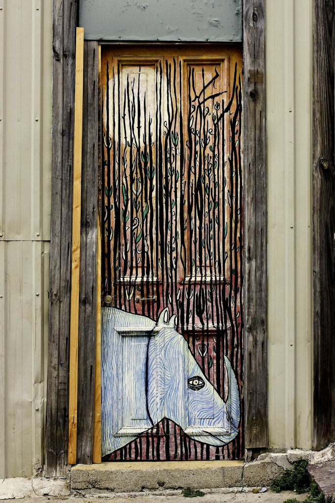 Rhino Door by Byron Ellis on Flickr. & Rhino Door by Byron Ellis on Flickr. | A Unique Gallery of Windows ...