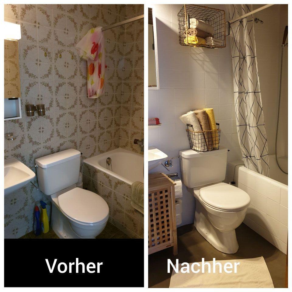 Das Schlafzimmer In 2020 Badezimmer Gunstig Bad Gunstig Renovieren Fliesen Streichen