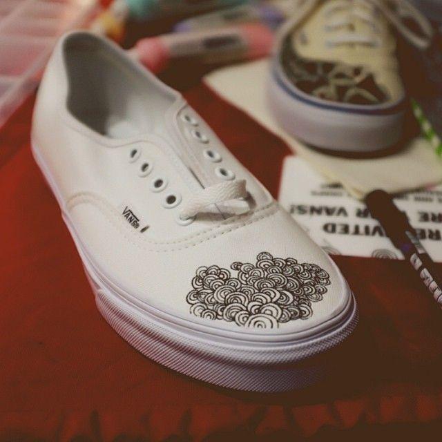 vans shoes tumblr blog, Vans authentic classic white lace up