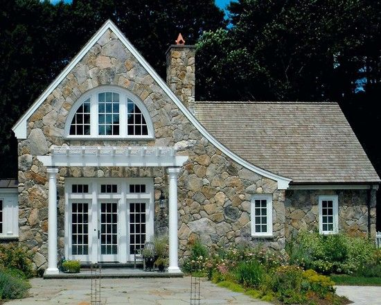 Traditional Exterior Design Pictures Remodel Decor And Ideas Page 45 Cottage Exterior Stone Cottages Facade House
