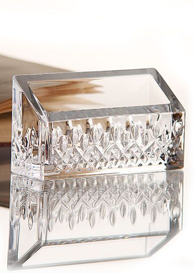 Waterford crystal lismore essence business card holder business waterford lismore essence business card holder colourmoves Images