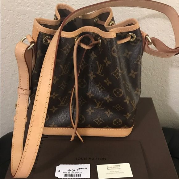 8815003ae I just discovered this while shopping on Poshmark: Louis Vuitton Noe bb in  monogram canvas. Check it out! Size: bb size, listed by cherryl32