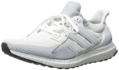 adidas performance donne ultra impulso scarpa da corsa, bianco / grigio chiaro