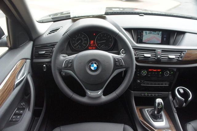 2014 Bmw X1 Jet Black Exterior Black Nevada Leather W Light