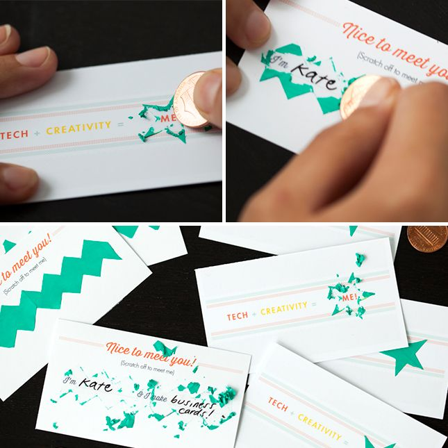 How to make scratch off business cards free printables free how to make scratch off business cards free printables reheart Gallery