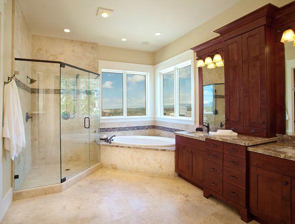 Lane Myers Construction Custom Home Builder Free Residence Bathroom