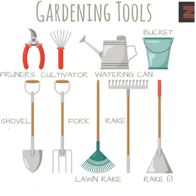 English chat gardening tools conversation and english for Gardening tools vocabulary