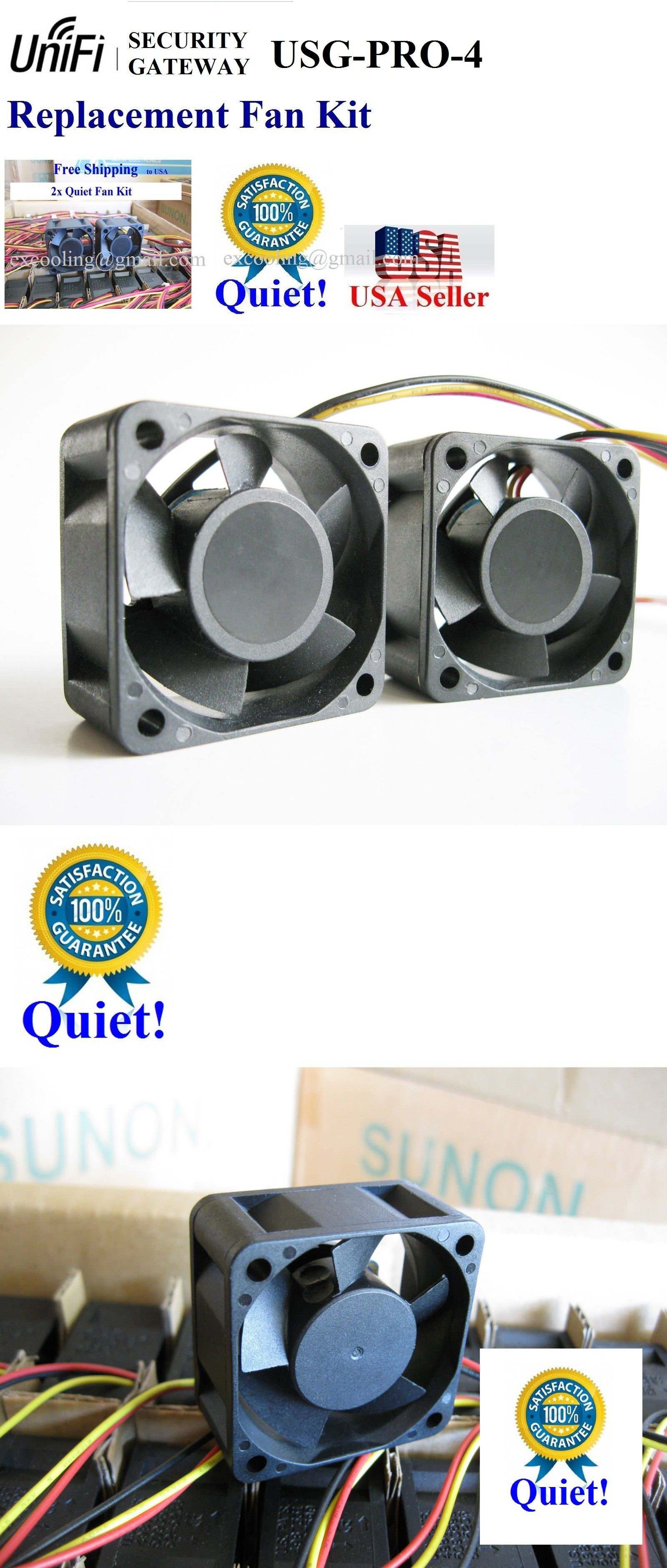 Other Ent Switches and Hubs 58321: Quiet 2X Fans For