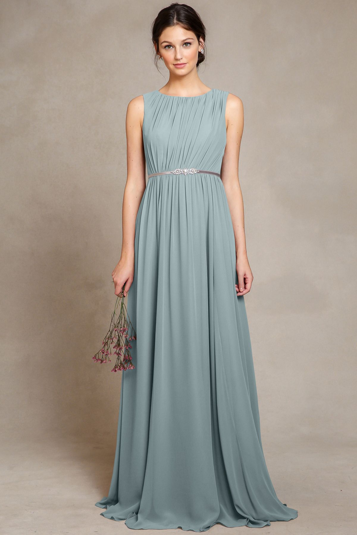 Jenny yoo eloise ciel blue bridesmaids pinterest dream