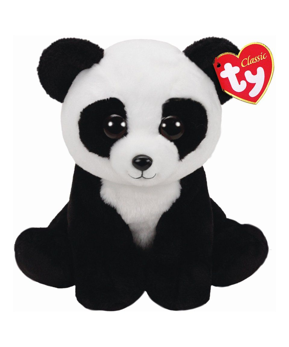 bd85b3de132 Take a look at this Bamboo Panda Beanie Baby Plush Toy today ...