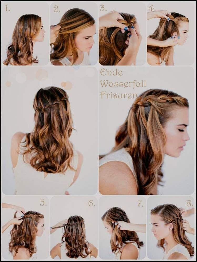 Frisuren tutorial halblange haare