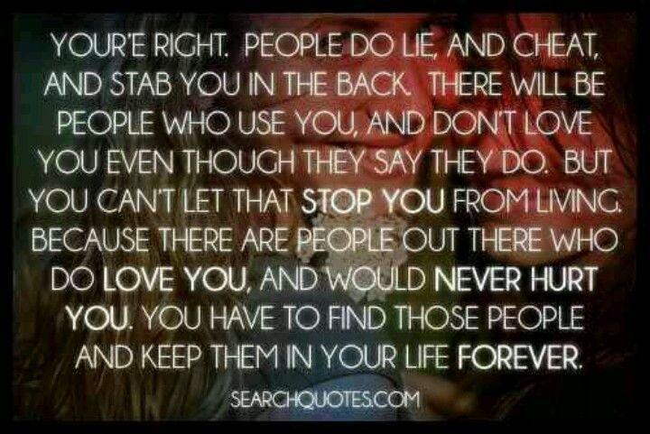 Loving people