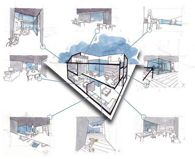 """Architecture Design Concept Sketches résultat de recherche d'images pour """"concept sketches architecture"""