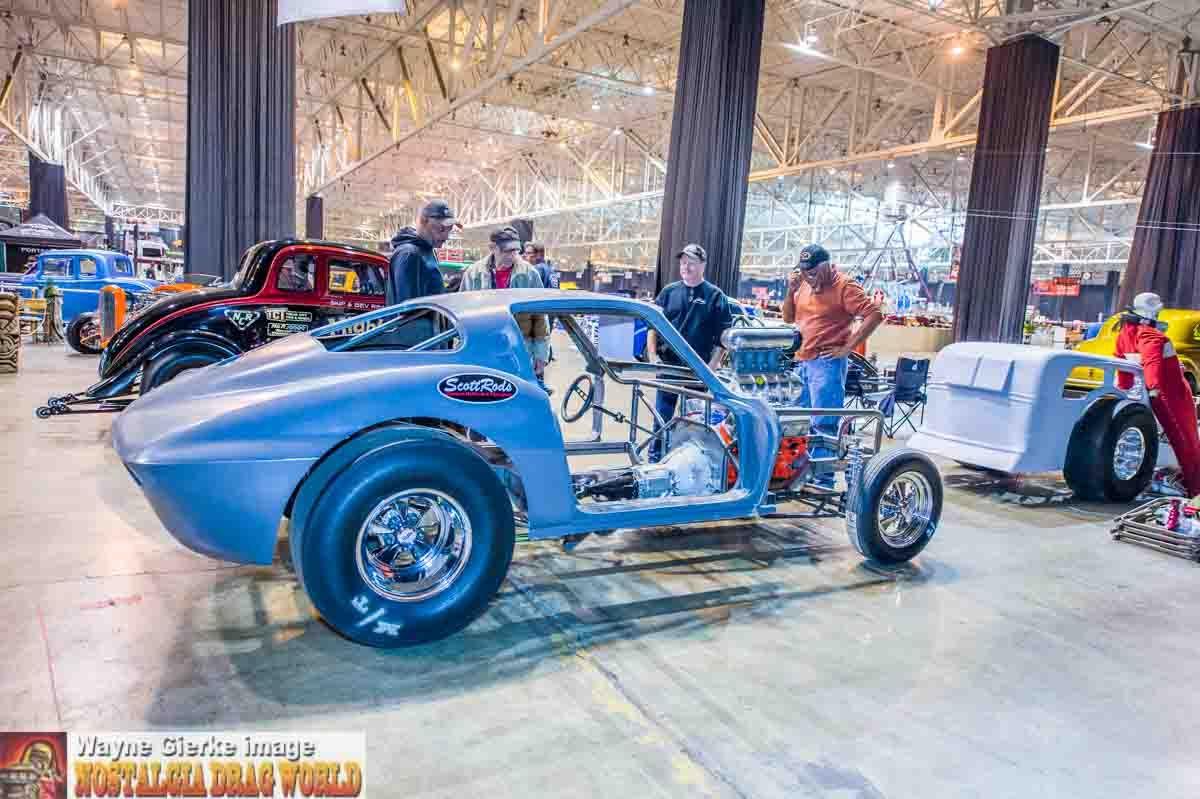 NOSTALGIA DRAG WORLD Th Annual Piston Powered AutoRama IX - Cleveland car show ix center