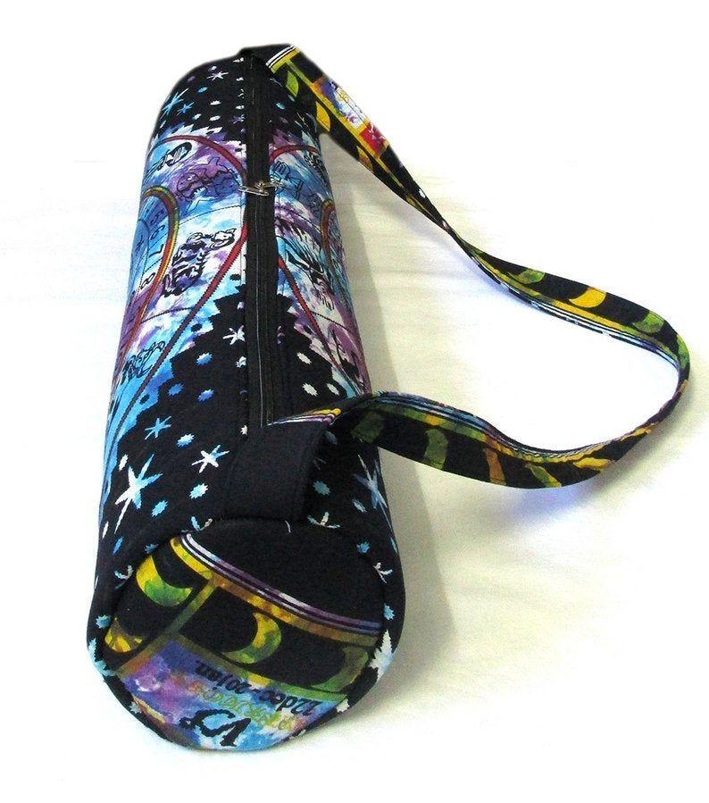 Mat Handmade Yoga Strap Bag Shoulder Carrier Mandala Hippie Indian Large New Bag