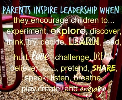 How Can Parents Inspire Leadership?