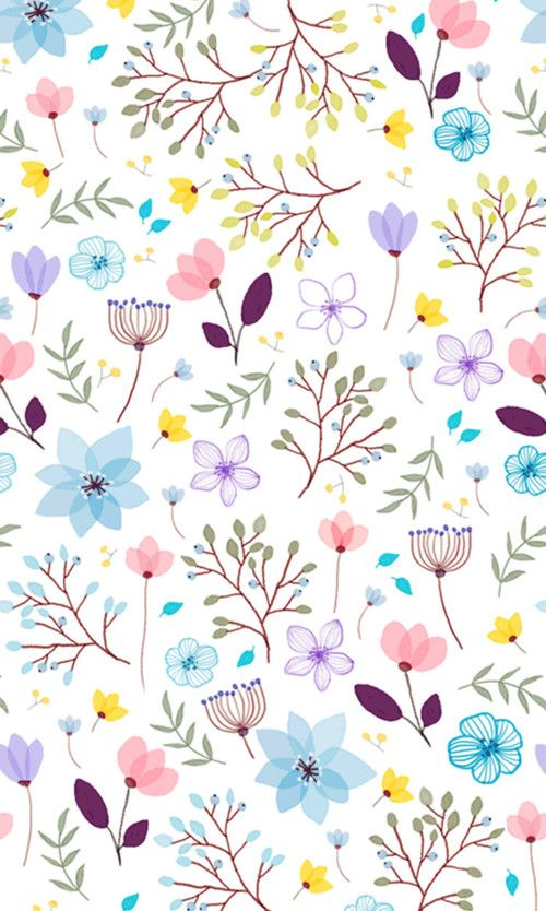 Flowers Pattern And Wallpaper Afbeelding Floral Wallpaper Pattern Wallpaper Flower Wallpaper Cute flower wallpaper for ipad