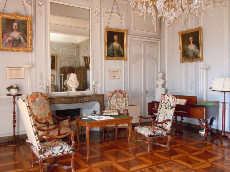 Le salon de musique int rieurs fran ais 17 18 19 me for Decoration anglaise salon