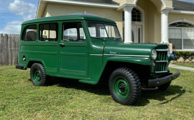 Fantastic 4×4: 1955 Willys Utility Wagon