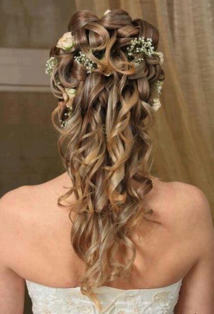 11 awesome medium length wedding hairstyles - | curly wedding