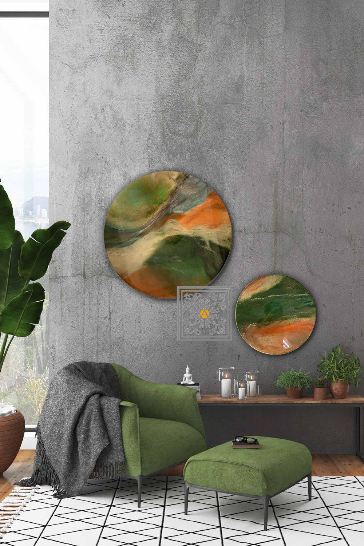 Speelse Wanddecoratie Haar Kunst Decoratieve Muren Wanddecoraties