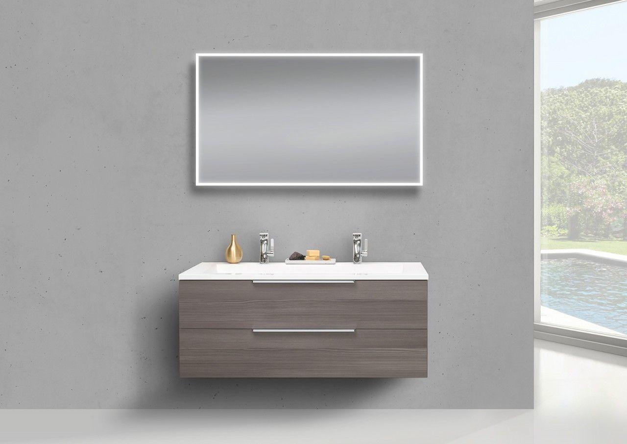Badezimmermöbel Unterschrank ~ Badmöbel set intarbad cubo cm doppewaschbecken unterschrank