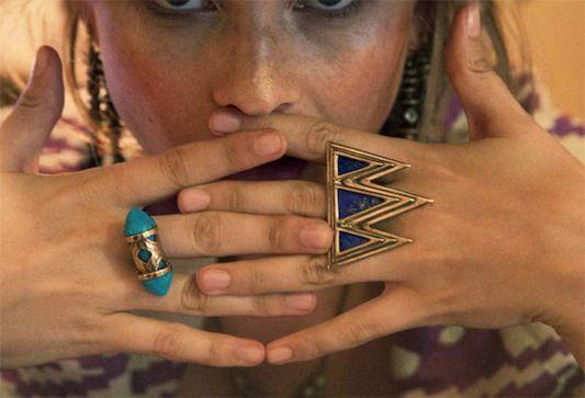 Pamela Love rings.