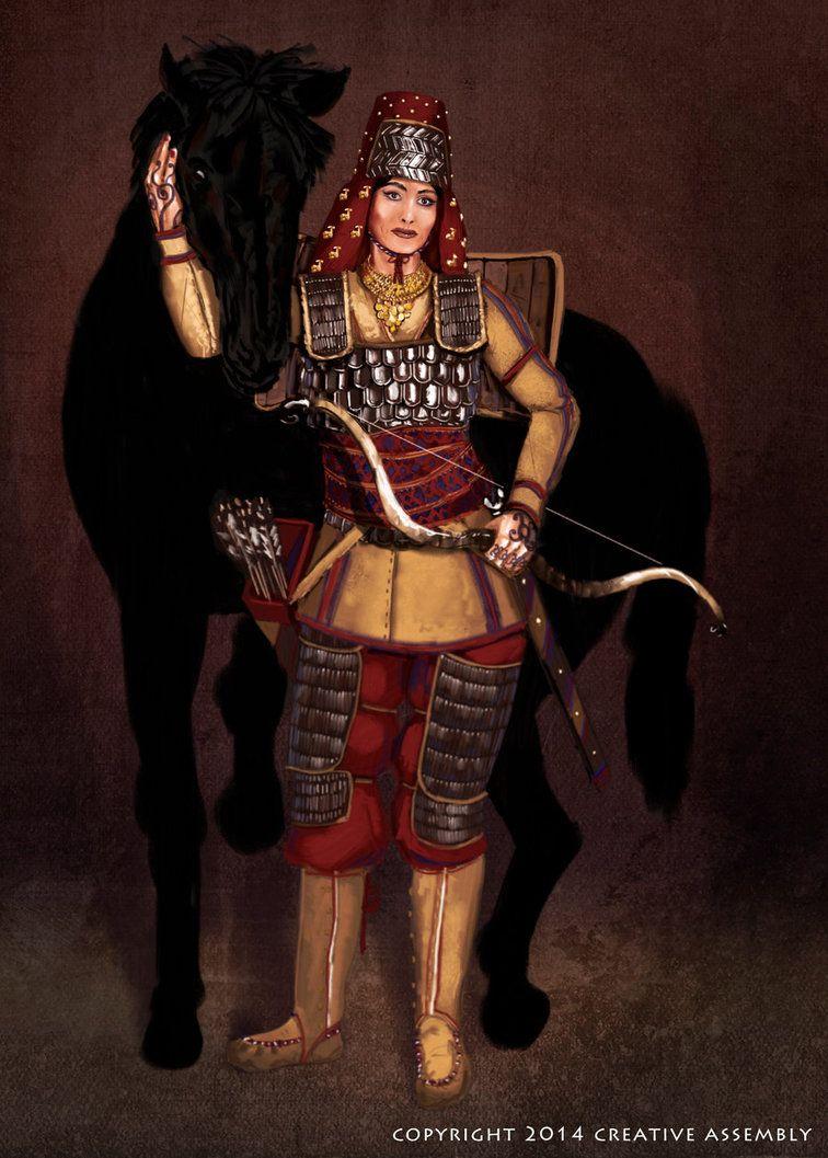 Scythian Woman by KevinMcDowell on DeviantArt