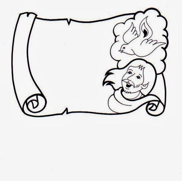 El Rincón de las Melli: Pergaminos | Dibujos para catequistas ...