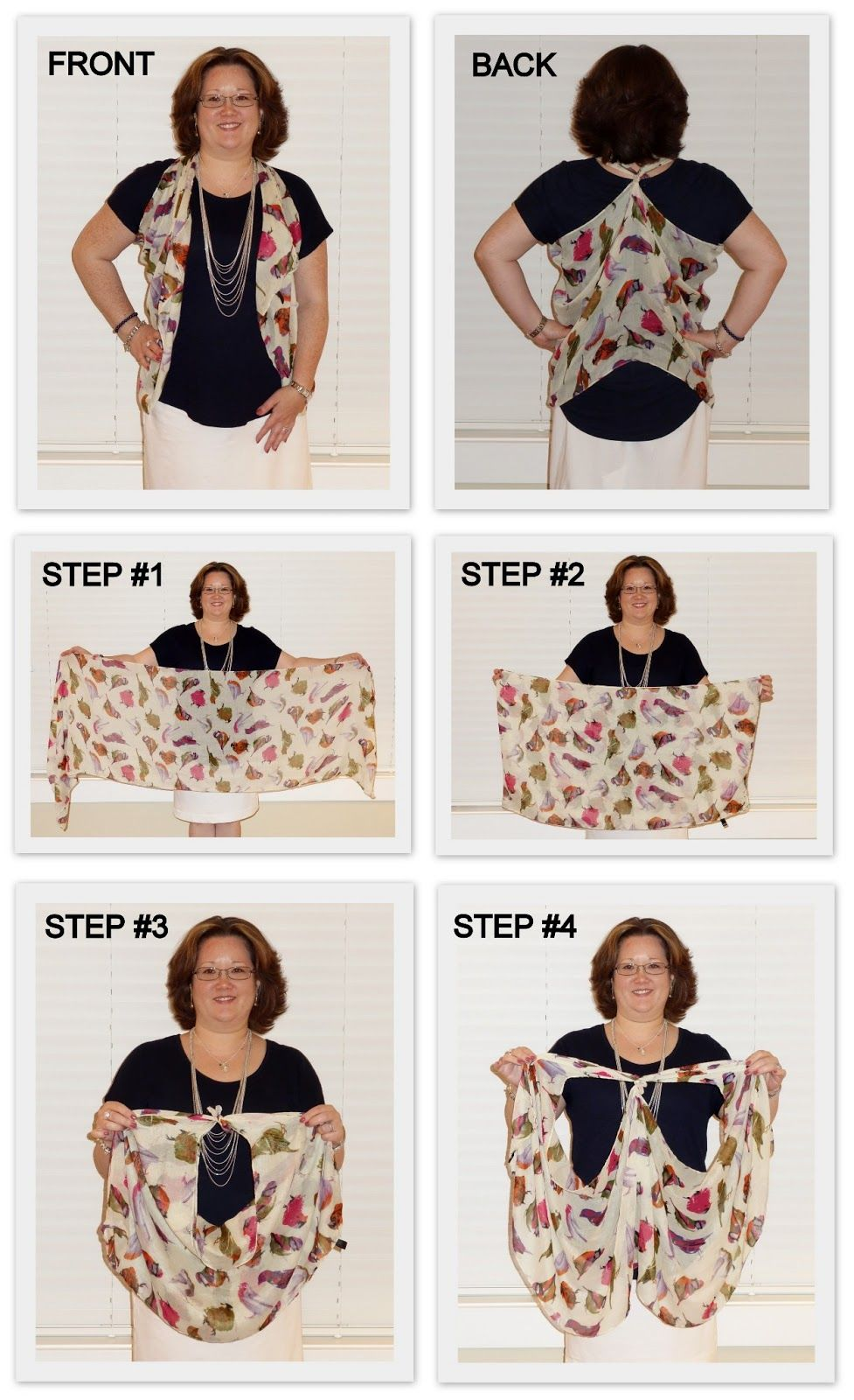 How to Tie a Scarf into a Headband