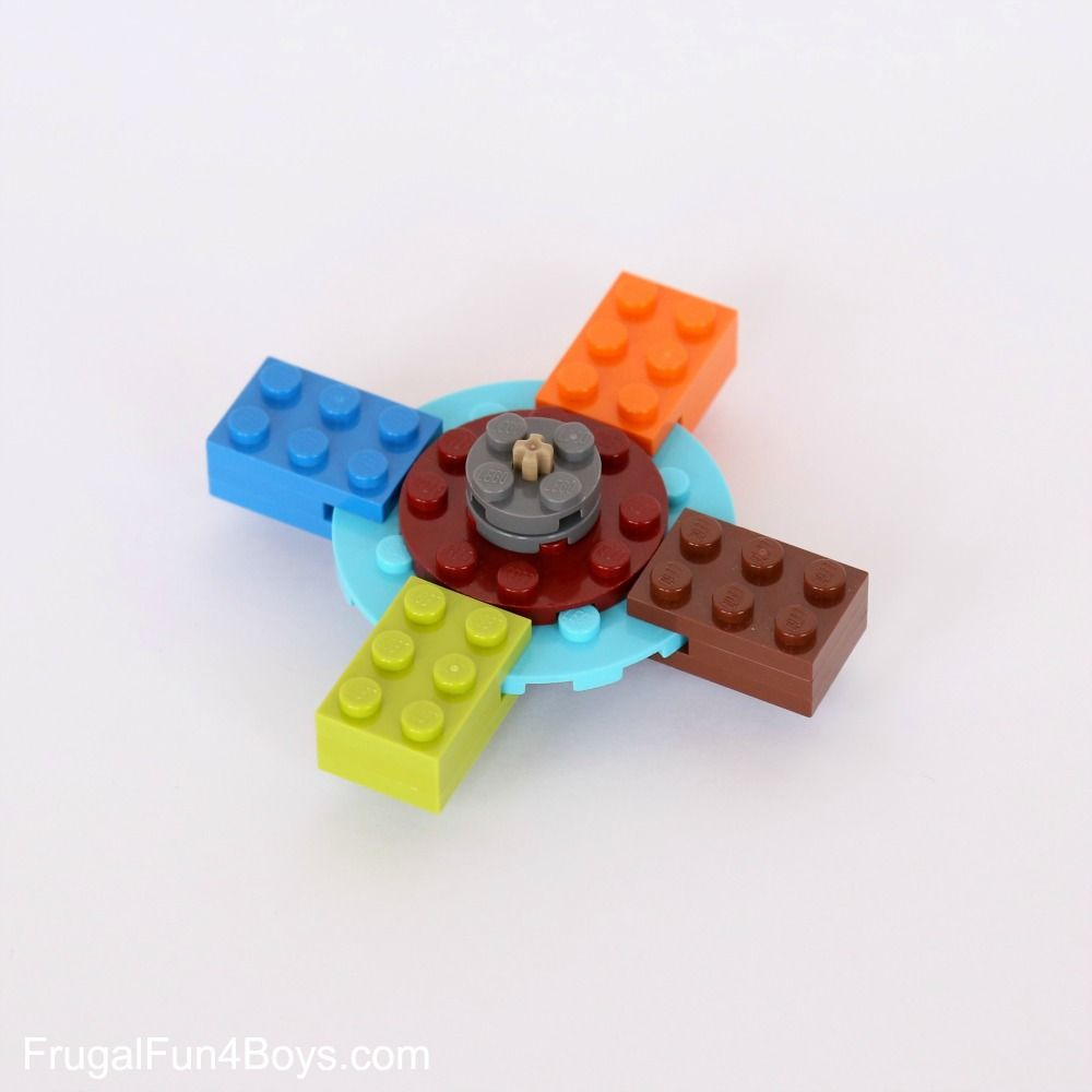Lego How To Build Hand Spinners