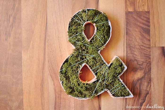 Delineate Your Dwelling: Garden Party : Planted Ampersand