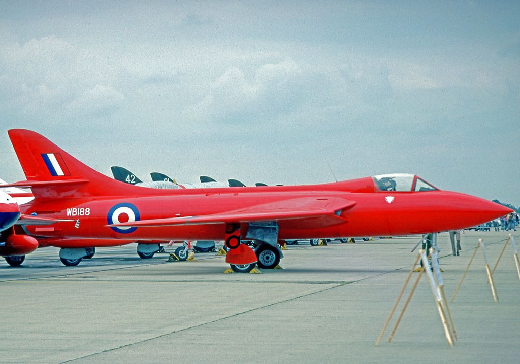 Hawker Hunter F.3 WB188 GC 31.07.76 edited-2 - Hawker Hunter - Wikipedia, the free encyclopedia