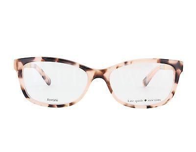 467ae77f3f7 NEW-Kate-Spade-ANGELISA-0S14-53mm-Pink-Havana-Eyeglasses