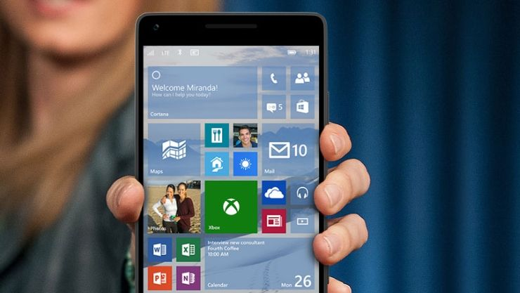 Hands On: Windows 10 Technical Preview for Phones #windows10