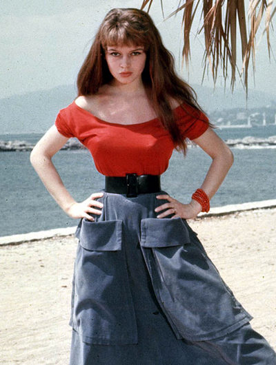 The French Actress Brigitte Bardot Had A Waist Size Of 19 Inches At