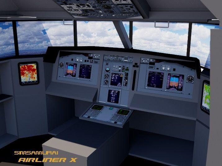 diy flight simulator cockpit blueprint plans and panels flight