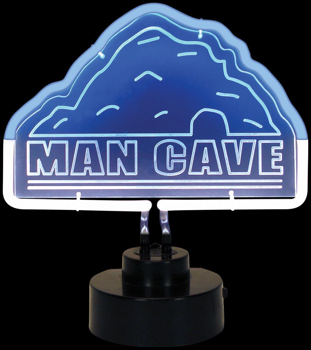 Man Cave Table Top Neon Sign