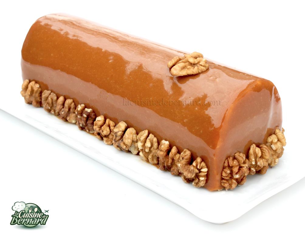 La Cuisine de Bernard: La Bûche Noix Caramel et Chocolat