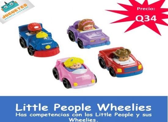 Carritos Wheelies Little People Juguetes Siempre Actuales
