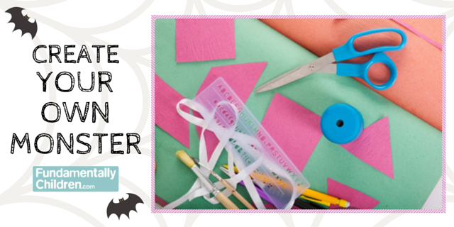 Create Your Own Monster! All you need are a few household items!
