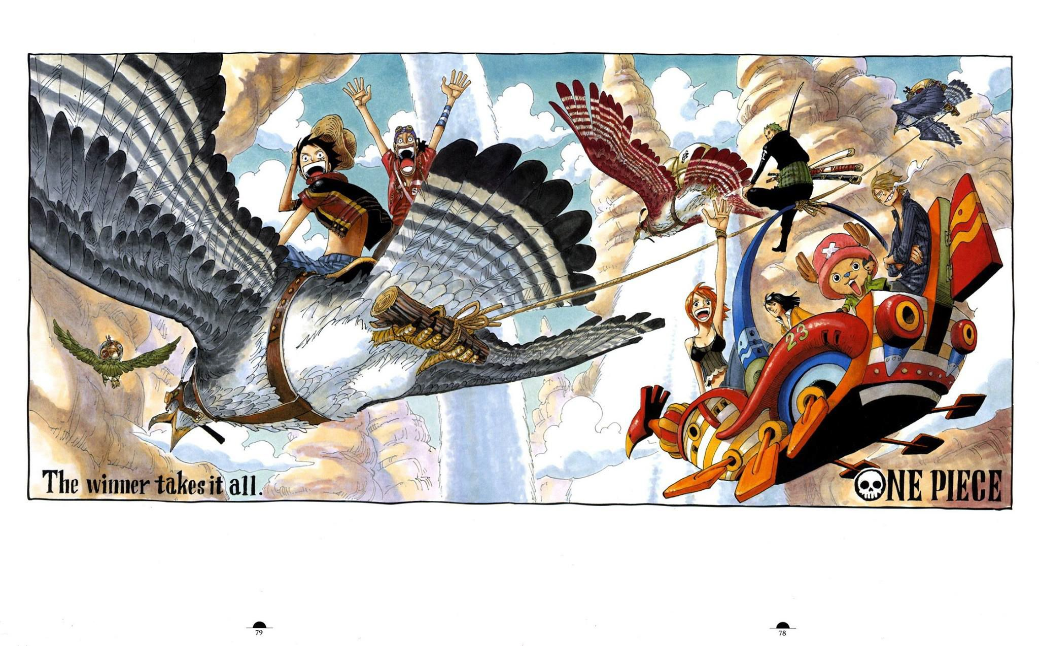 One Piece 0001 Art Colletion One Piece 0001 Art
